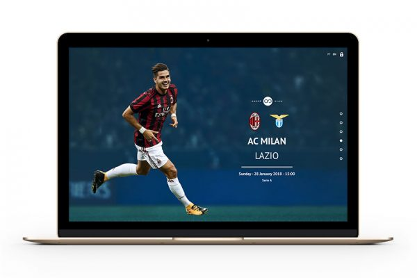 Polaris Sports Andre Silva website by Branditnext