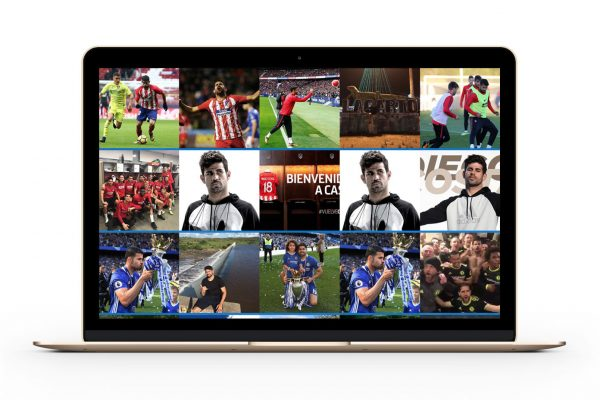 Website Diego Costa by Branditnext