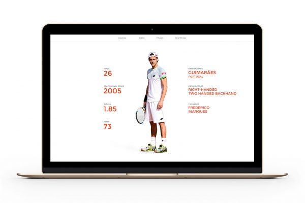 Polaris Sports João Sousa website by Branditnext