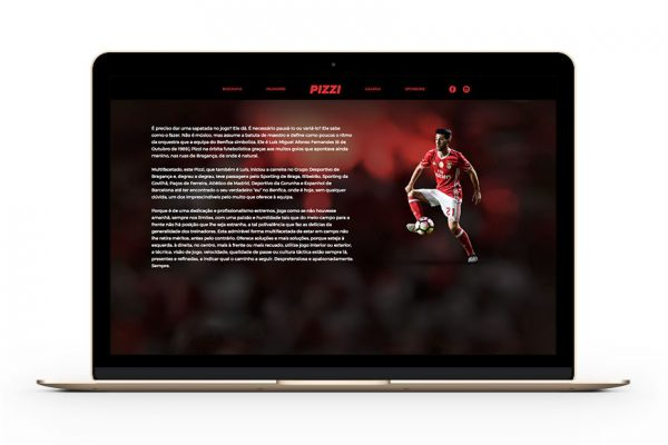 Polaris Sports Pizzi website by Branditnext