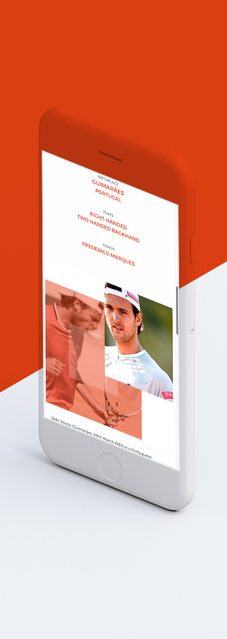 João Sousa Official Website